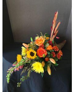 Cornacopia Thanksgiving Flowers