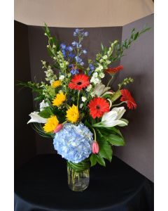 Flower Arrangement of Assorted Flowers