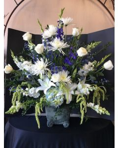Funeral Flowers of Purity