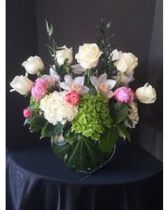 Premium Valentine's Day Flowers with Orchids and Lilies