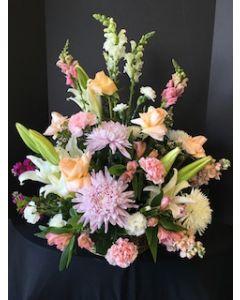 Sympathy Flowers Urn