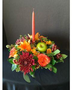Thanksgiving Flowers Centerpiece
