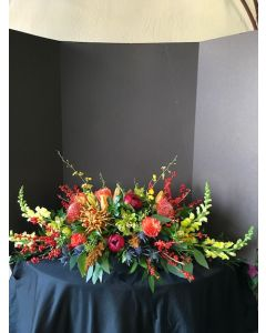 Tropical Flowers Centerpiece