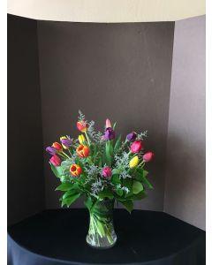 18 Assorted Tulips